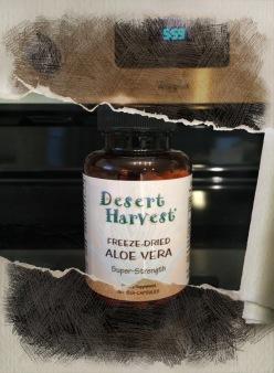 Desert harvest aloe